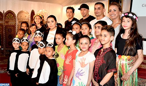 SAR la Princesse Lalla Asmae préside la cérémonie de fin d'année scolaire 2018-2019 de la Fondation Lalla Asmae pour Enfants et Jeunes Sourds