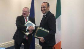 Signature du premier mémorandum d'entente pour la coopération parlementaire entre le Maroc et l'Irlande