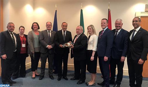 Le Maroc et l'Irlande se félicitent de la qualité de leurs relations bilatérales