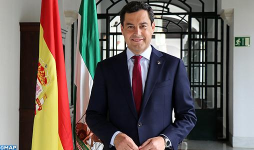 Le Maroc, un partenaire de référence pour l'Andalousie (président du gouvernement andalou)