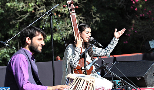 Le groupe Kawa Generations fait voyager le public de Mawazine dans l'univers de la musique classique indienne