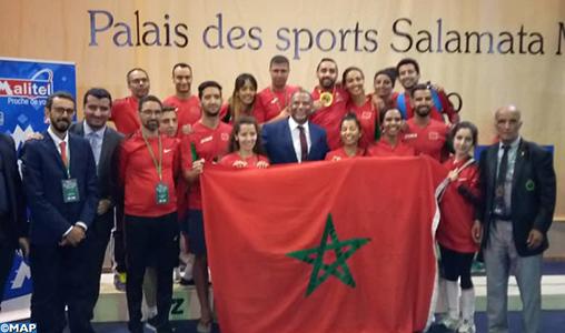 Mali/championnat d'Afrique d'escrime séniors : le Marocain El Kord Houssam décroche la médaille d'or à l'épée