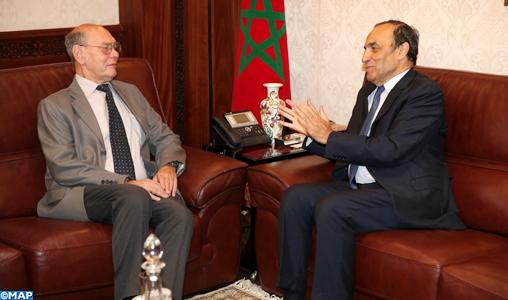 M. El Malki et l'ambassadeur de Russie à Rabat soulignent l'importance de la diplomatie parlementaire dans le renforcement des relations bilatérales