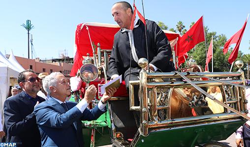 Marrakech : Remise des prix de la 20è édition du concours des chevaux des calèches touristiques