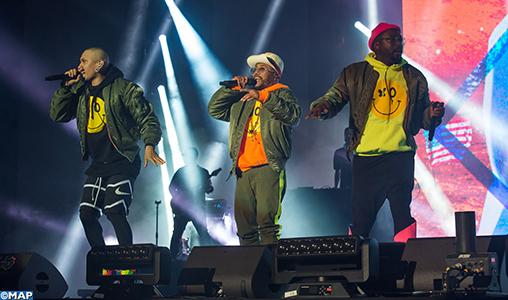 Mawazine-2019: Les légendaires Black Eyed Peas font vibrer le sol à l'OLM-Souissi