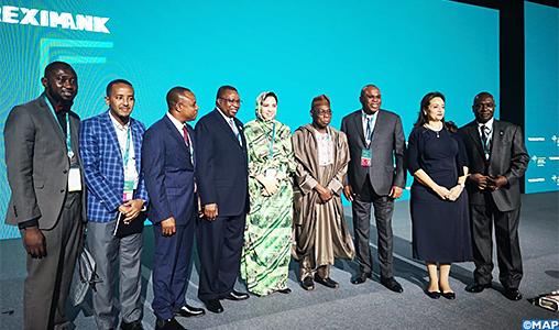 """Participation du Maroc à la 26ème Assemblée générale de l'""""Afreximbank"""" à Moscou"""