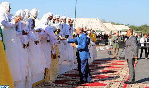"""Trophée Hassan II des arts équestres traditionnels """"Tbourida"""" (seniors): La Sorba du Moqaddem Maher El Bachir remporte la 20ème édition"""