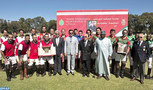 SAR le Prince Moulay Rachid préside à Rabat la finale de la 3è édition du Trophée International Mohammed VI de Polo