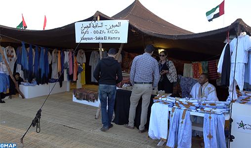 Moussem de Tan-Tan: Les tentes marocaines et mauritaniennes reflètent la splendeur du patrimoine culturel commun