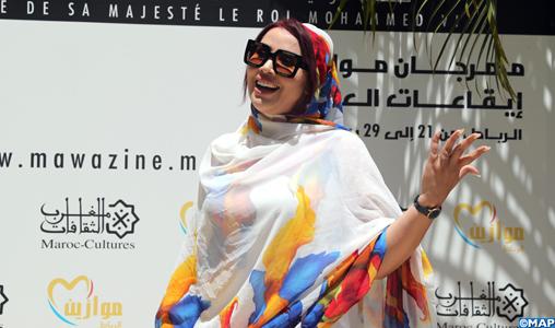 """Mawazine 2019: Saïda Charaf promet à ses fans un concert """"éblouissant"""" plein de surprises"""