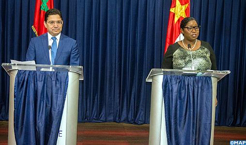 """Le Suriname salue le rôle de SM le Roi Mohammed VI en tant que """"leader africain"""""""