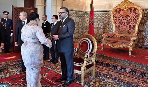 SM le Roi nomme de nouveaux ambassadeurs et reçoit des ambassadeurs étrangers venus prendre congé du Souverain