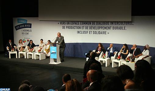 Le comité de pilotage «Assemblée des Cent» se réunit mardi au Forum de Tunis en prévision du Sommet des deux rives de la Méditerranée