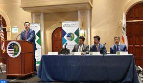 Conférence des Procureurs généraux de l'Ouest des États-Unis: M. Abdennabaoui présente les attributions du ministère public au Maroc