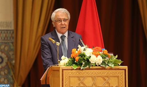 L'apport théorique et politique de Mohammed Arkoun sur l'espace géopolitique méditerranéen mis en avant lors d'un colloque à l'Académie du Royaume du Maroc
