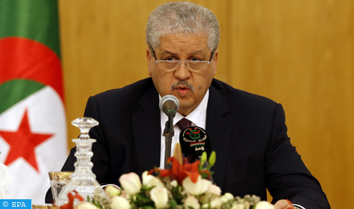L'ancien Premier ministre Abdelmalek Sellal placé sous mandat de dépôt