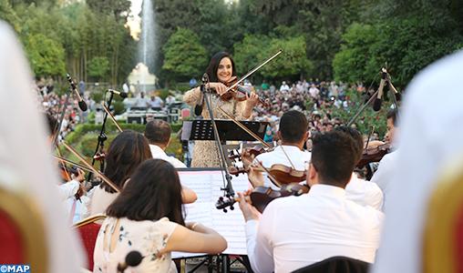 El Akademia Masterclass : Concert mémorable de l'orchestre national des jeunes du Maroc