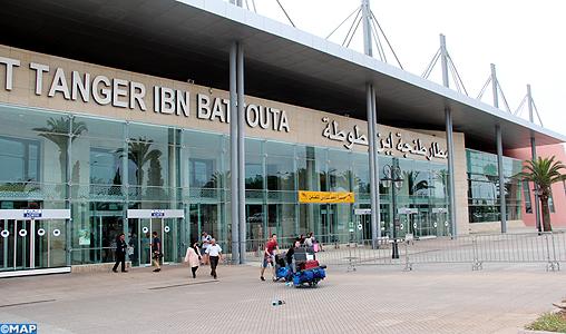 Aéroport Tanger Ibn Battouta: Progression de plus de 18 % du trafic aérien au 1er semestre 2019