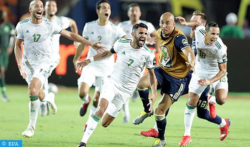 CAN-2019: L'Algérie bat le Nigeria et rejoint le Sénégal en finale