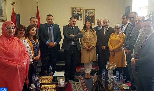 La mission exploratoire temporaire sur les consulats visite le consulat général du Maroc à Bruxelles