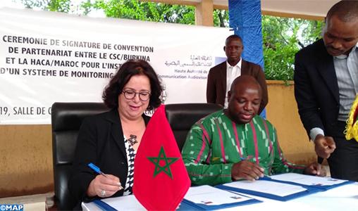 La HACA et le CSC burkinabè scellent leur coopération