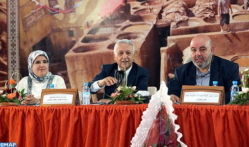 Fès : M. Sajid souligne l'importance de la filière cuir dans le développement de l'artisanat