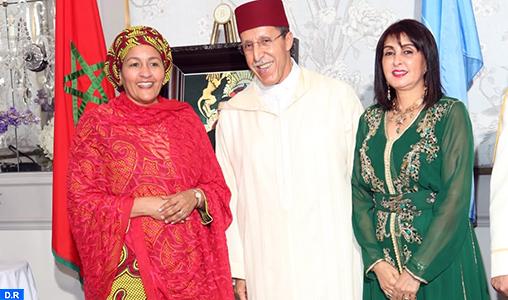 La vice-Secrétaire générale de l'ONU salue les progrès importants réalisés au Maroc sous le leadership de Sa Majesté le Roi