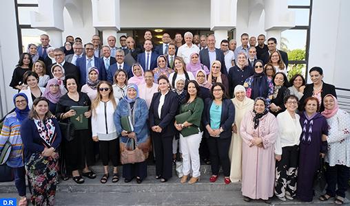 Son Altesse la Princesse Lalla Zineb préside à Rabat l'Assemblée générale ordinaire de la Ligue Marocaine pour la Protection de l'Enfance