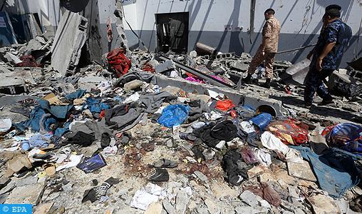 Sept Marocains tués, huit blessés et trois autres portés-disparus dans le raid aérien contre un centre de migrants près de Tripoli (Consulat)