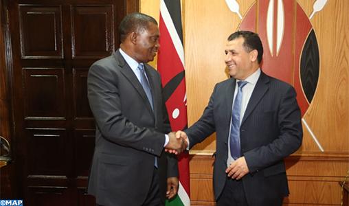 """Le président de l'Assemblée nationale du Kenya plaide pour un """"partenariat stratégique et fructueux"""" avec le Parlement marocain"""
