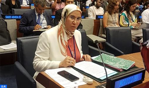 ONU: Mme El Ouafi présente à New York l'expérience marocaine en matière de développement durable