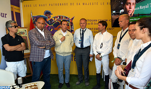 Le Morocco Royal Tour 2019 présenté au Paris Eiffel Jumping, une étape du prestigieux circuit Longines Global Champions Tour (CGT) et de la Global Champions League