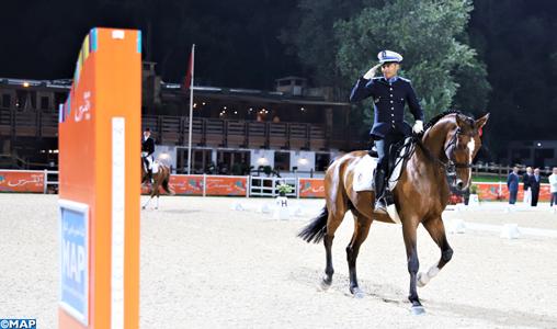 Semaine du cheval : Le brigadier de police Abderazak Anouti remporte le Prix MAP, épreuve qualificative aux phases finales du Championnat de dressage catégorie A