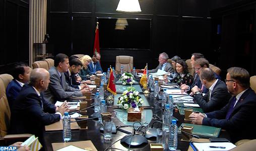 Entretiens à Rabat entre des membres de la commission des pétitions à la Chambre des représentants et leurs homologues du Bundestag