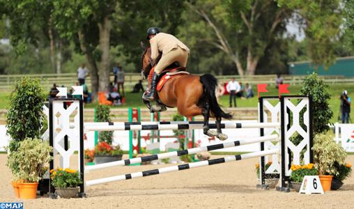"""Semaine du cheval 2019 : Le Capitaine Hassan El Azher remporte le Championnat du Maroc dans la catégorie Militaire """"B"""""""