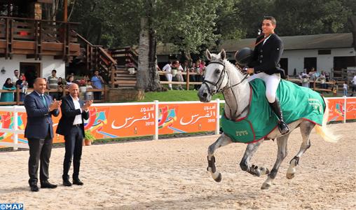 Saut d'obstacles: Aadnan Adil sacré Champion du Maroc en Senior intermédiaire