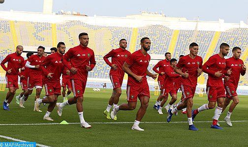 Les Lions de l'Atlas affrontent la Libye et le Gabon en matchs amicaux les 11 et 15 octobre