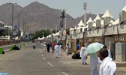 L'ascension des pèlerins marocains vers le Mont Arafat s'est déroulée dans d'excellentes conditions (responsable)