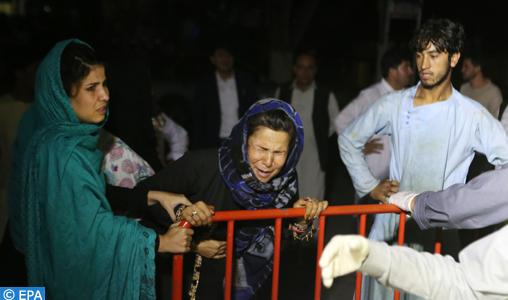 Afghanistan: 63 morts et 182 blessés dans l'attentat contre un mariage à Kaboul