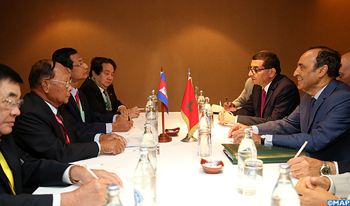 M. El Malki s'entretient avec ses homologues de l'ASEAN de la diplomatie parlementaire au service de la coopération