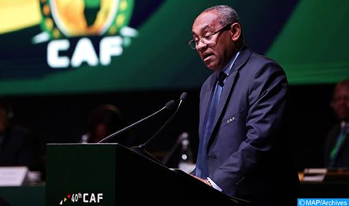 Le président de la CAF testé positif au Covid-19