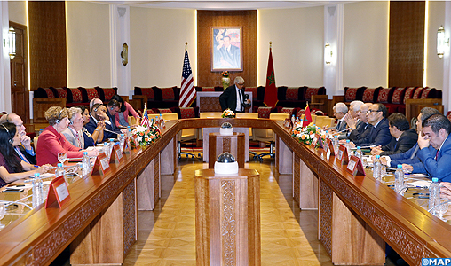 La promotion de la coopération parlementaire au menu d'un entretien de M. El Malki avec une délégation américaine