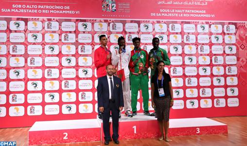 Jeux africains-2019/Taekwondo: Le Marocain Achraf Mahboubi décroche la médaille d'argent