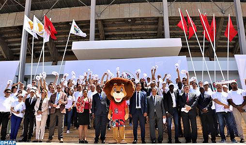 Coup d'envoi à Rabat de la caravane de promotion des 12ès Jeux africains