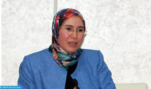 Le plan d'action du Forum africain pour le développement durable au menu d'un entretien de Mme El Ouafi avec une responsable onusienne