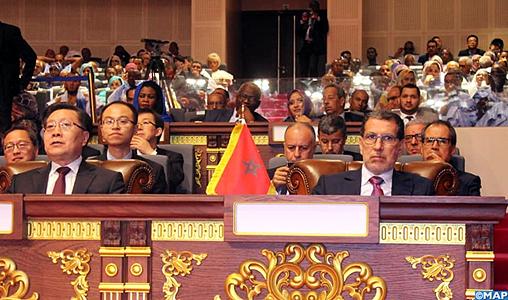 Investiture du nouveau Président mauritanien en présence de M. El Otmani