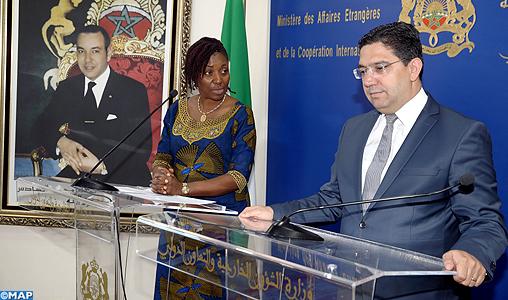 Le Maroc et la Sierra Leone se félicitent du haut niveau de coordination aux niveaux continental et international