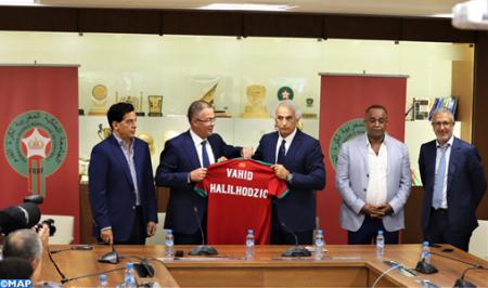 Le Franco-bosniaque Vahid Halilhodzic nouveau sélectionneur des Lions de l'Atlas (FRMF)
