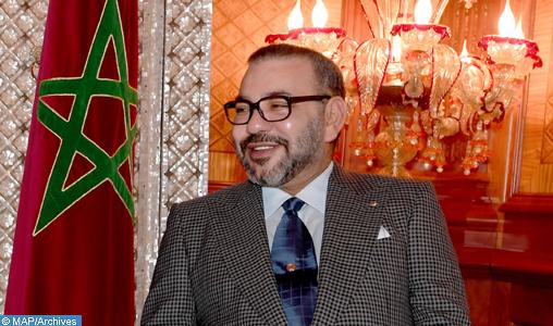 SM le Roi félicite M. Kais Saïed suite à son élection président de la République de Tunisie