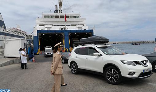 Opération Marhaba 2019: Plus de 567.000 passagers entrés au Maroc par le port Tanger Med